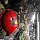 آتش سوزی در خیابان لاله زار نو