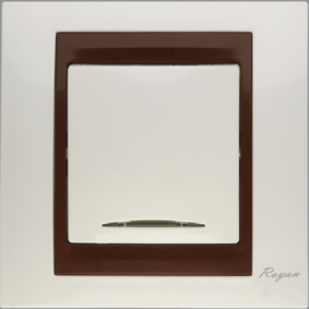 کلید پریز جور سیلویا سفید رویان