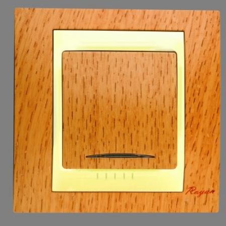 کلید تکپل سیلویا طرح چوب رویان