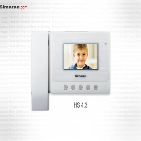 درب بازکن صوتی و تصویری مانیتور 4.3 اینچ سیماران