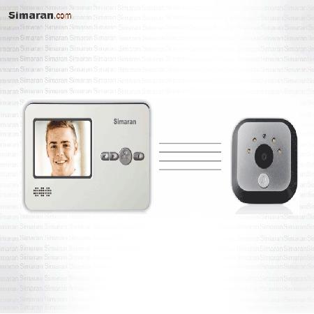درب بازکن صوتی و تصویری چشمی دیجیتال درب سیماران