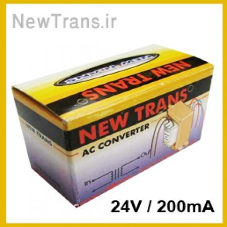 ترانس 24 ولت 200 میلی آمپر نیوترانس