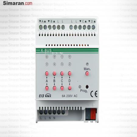 کنترل پرده هوشمند 4 کاناله HA/AWBS04 سیماران