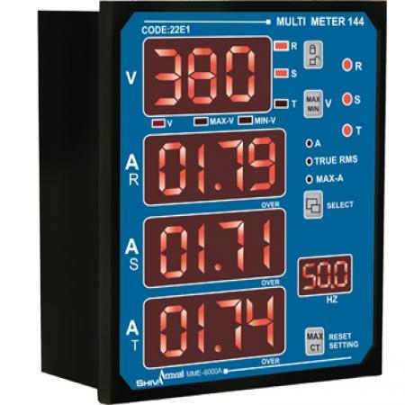 مولتی متر 144 MME-6000A شیوا امواج