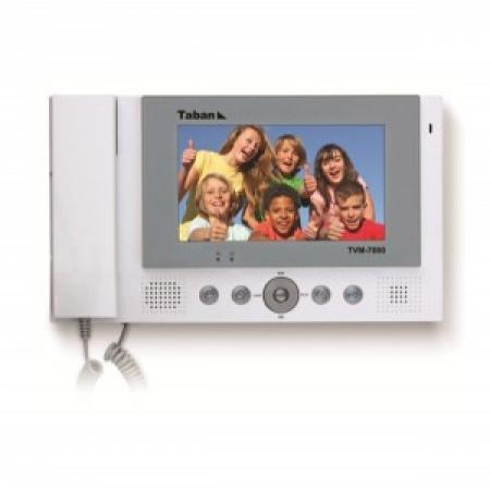 """مانیتور تصویری رنگی """"7 - TVM-7000 تابان الکترونیک"""