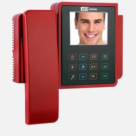 "گوشی تصویری رنگی لمسی   3.5"" تکنما"