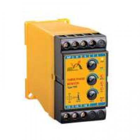 کنترل فاز 6 LED رله های حفاظتی و مونیتورینگ برنا الکتریک