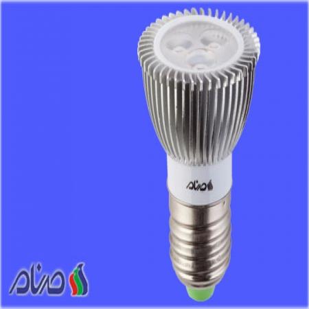 لامپ ال ای دی spot 3w صنام الکتریک