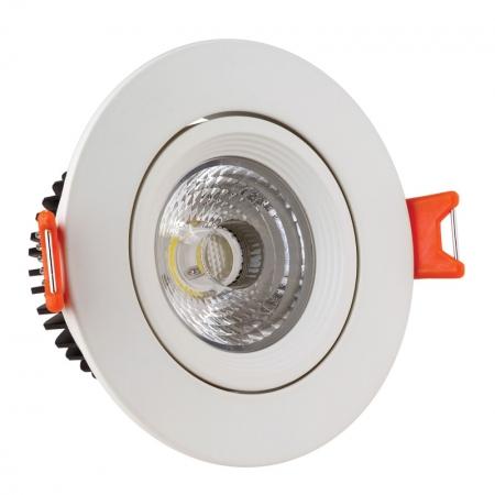 لامپ ال ای دی سیلندری دورسفید 7 وات نما نور آسیا
