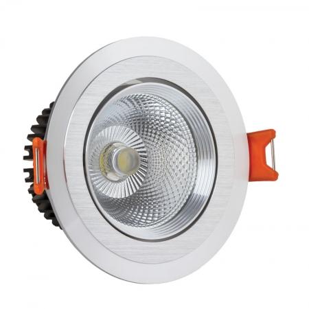 لامپ ال ای دی سیلندری دورسفید لنزدار نما نور آسیا