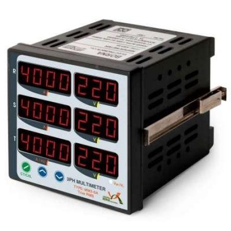 مولتی متر سه فاز 6 نمایشگر نمایشگرهای تابلویی شرکت برنا الکترونیک
