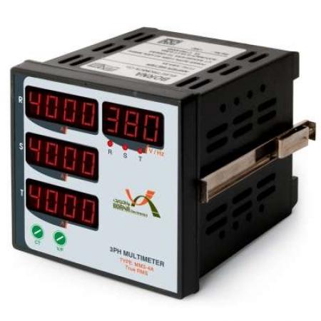 مولتی متر سه فاز 4 نمایشگر نمایشگرهای تابلویی شرکت برنا الکترونیک