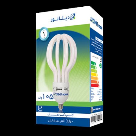 لامپ کم مصرف 105 وات دینا نور