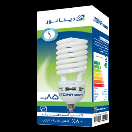لامپ کم مصرف 85 وات دینا نور