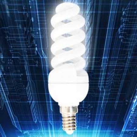 لامپ کم مصرف11 وات تمام پیچ امید پدیده