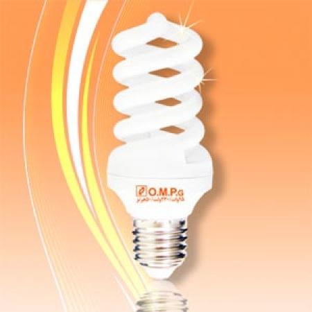 لامپ کم مصرف15 وات تمام پیچ امید پدیده