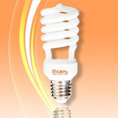 لامپ کم مصرف 18 وات نیم پیچ امید پدیده