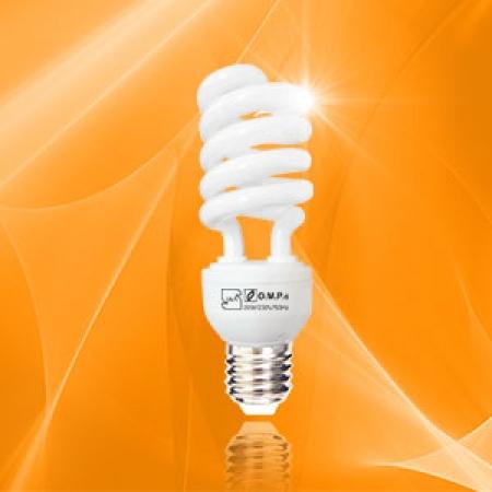 لامپ کم مصرف 20 وات نیم پیچ امید پدیده