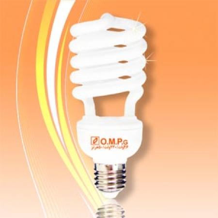 لامپ کم مصرف 26 وات نیم پیچ امید پدیده