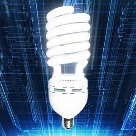لامپ کم مصرف 90 وات نیم پیچ امید پدیده