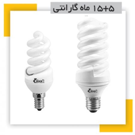 لامپ کم مصرف تمام پیج 11 وات بدیع نور