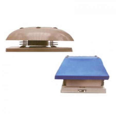 هواكش های سقفی آکسیال بدنه فلزي خزر فن