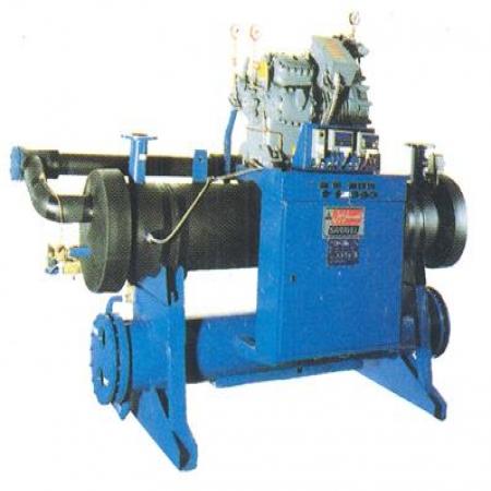 چلیر با کمپرسور نیمه بسته ، رفت و برگشتی  هوا خنک و آب خنک  SLCH-10 to SLCH-80  تک کمپرسوره