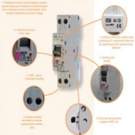 کلیدهای قطع کننده ترکیبی(RCBO)