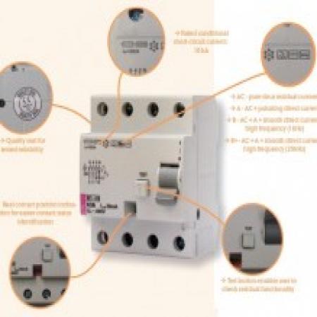 کلیدهای قطع کننده جریان نشتی (RCCB)