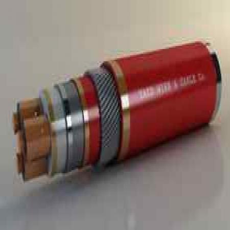 کابلهای قدرت فشار متوسط سربدار و زره دار یزد