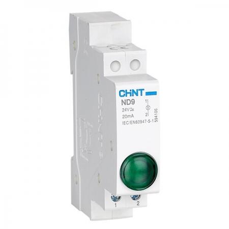 چراغ سیگنال مینیاتوری چینت-ND9 Indicator Light تهران الکتریک