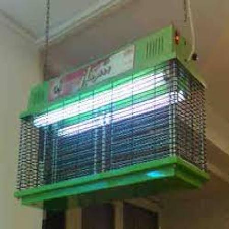 حشره کش الکتریکی 81 وات  خارجی دارای لامپ جذب حشره