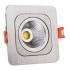 لامپ ال ای دی سیلندری آلومینیوم مربع نما نور آسیا